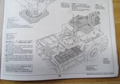 スカニア R620 MFC-01ユニット 搭載説明図