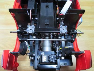 スカニア R620 ステアリングの調整