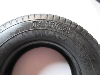スカニア R620 タイヤの離型剤の跡