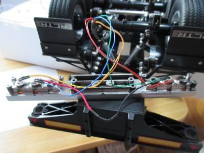 セミトレーラー テールライト LEDの埋め込み