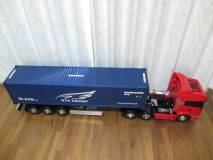 スカニア R620と連結したセミトレーラー