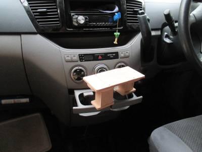 車載ホルダー取り付けベース