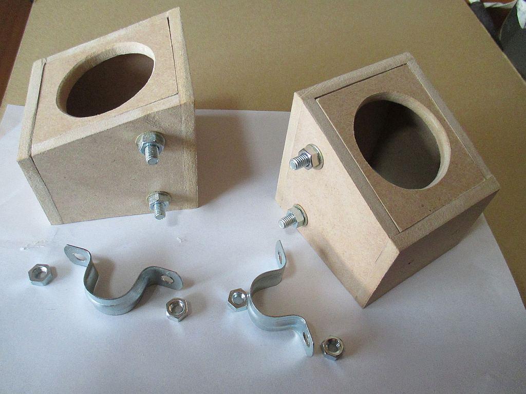 スピーカーの箱の製作