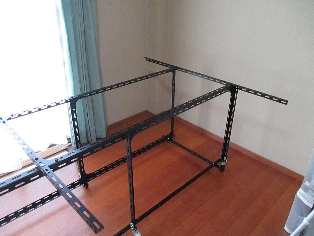 Nゲージレイアウトの台枠