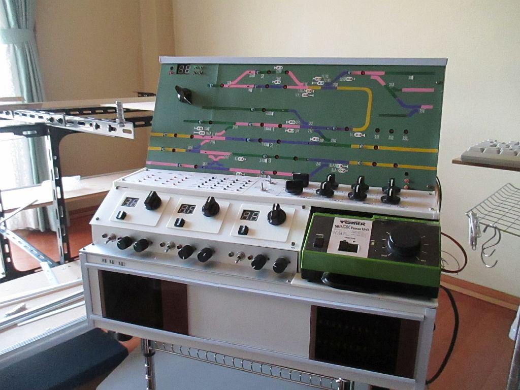 ポイント制御盤