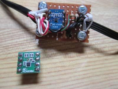 2種類の電圧レベル変換モジュール