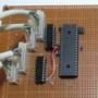 ポイントマシン制御用パーツ取り付け基板
