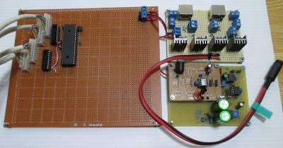 ポイントマシン制御用基板類