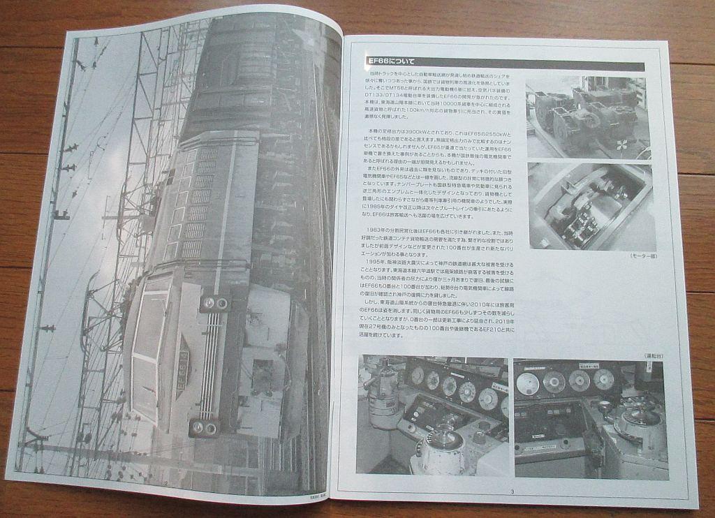 アオシマ 1/45 EF66 前期型 組み立て説明書