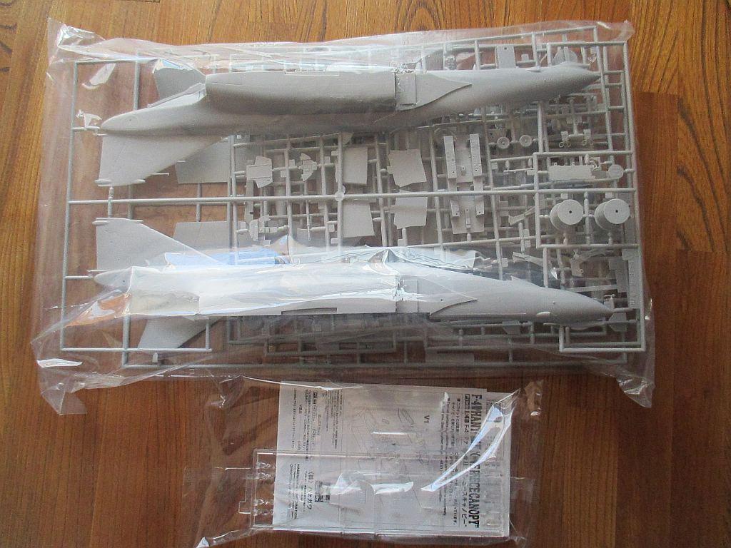ハセガワ F-4B/N ファントムII キット構成