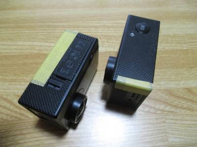風きり音対策 - マスキングテープ