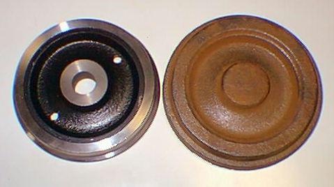 C62先輪、従輪、テンダー用プレート車輪