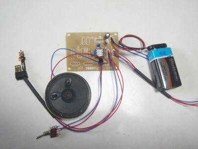 Nゲージ 踏切警報音キットの製作