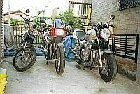 ガレージの風景