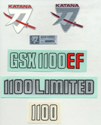 GSX1100S用エンブレム、ステッカー類