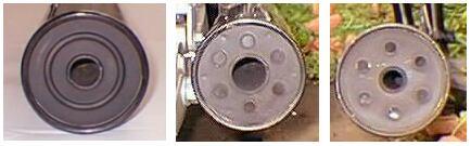 マフラーの排気口の違い