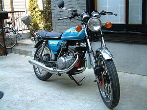 スズキ GT125 2型
