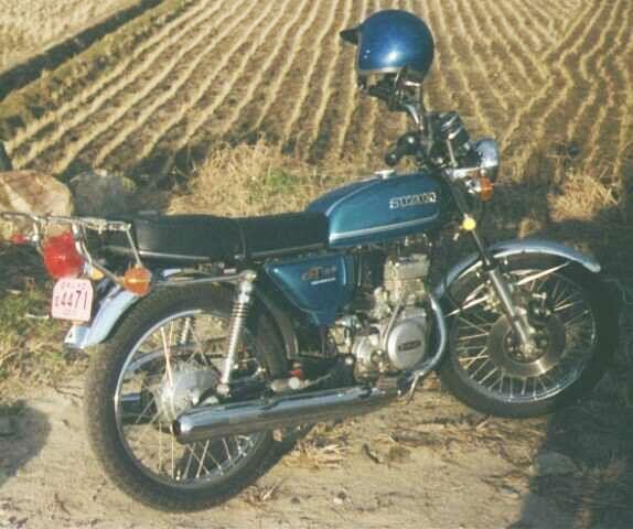 スズキGT125