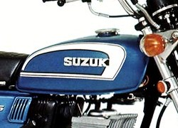 SUZUKI GT125 1型 グラフィックパターン