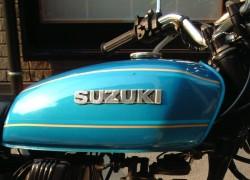 SUZUKI GT125 4型 グラフィックパターン