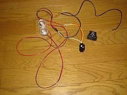 LEDと減光スイッチ