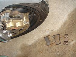 XJR1300 フロントブレーキパッド