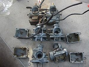 GT125 キャブレターの掃除