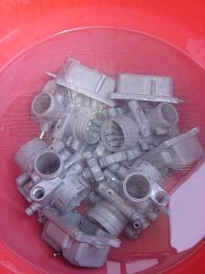 GT125 キャブレター掃除