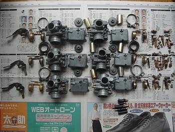 GT125 キャブレター