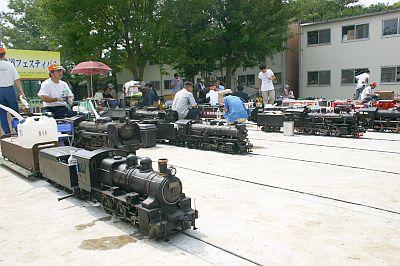 ミニ鉄道フェスティバルにて