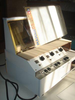 Nゲージレイアウト用制御盤 コントローラ部のパネル