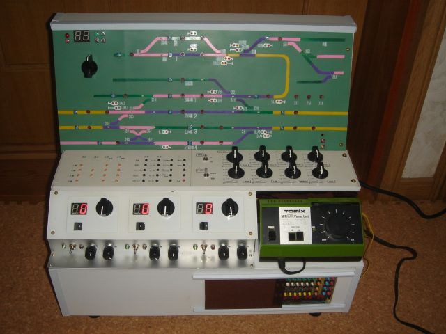 Nゲージ制御盤