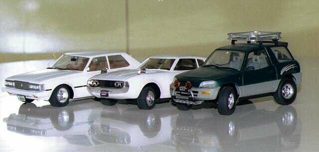 車のプラモデル