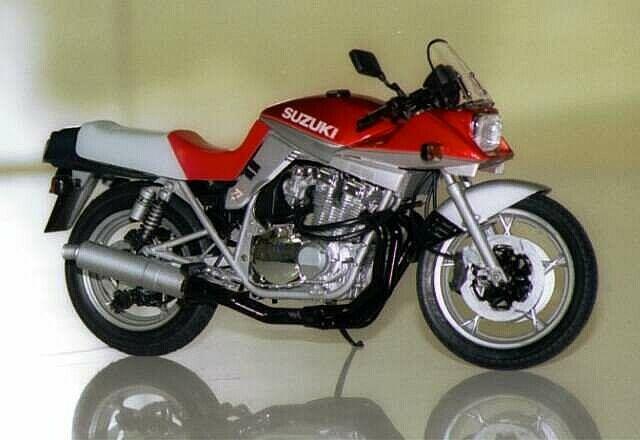 タミヤ 1/12 オートバイシリーズ No.65 スズキ GSX1100S CUSTOM TUNED