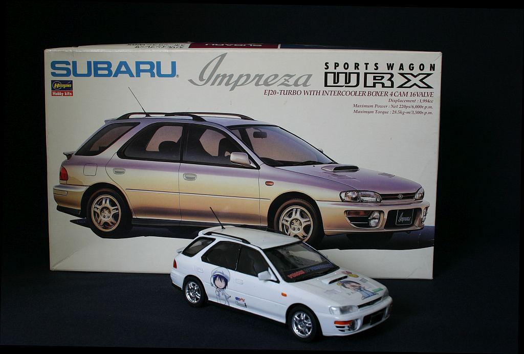 ハセガワ スバル インプレッサ WRX 痛車