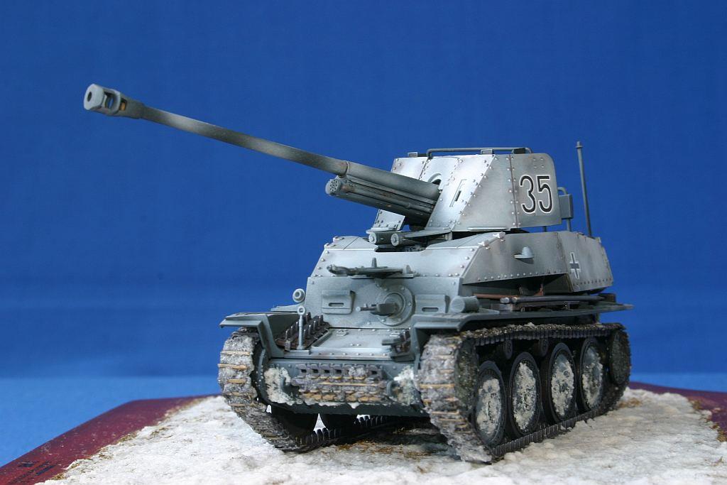タミヤ 1/48 ドイツ対戦車自走砲 マーダーIII