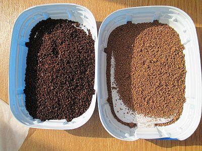 土ベース・紅茶/コーヒー