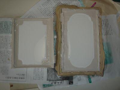 石膏で複製