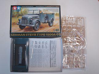ドイツ大型軍乗用車 シュタイヤー1500A/01