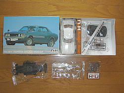 童友社 The 1971 トヨタ セリカ 1600GT キット構成