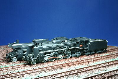 KATO C57形機関車