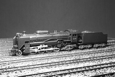 KATO D51形機関車