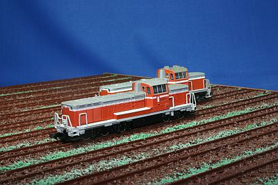 KATO TOMIX DE10形機関車