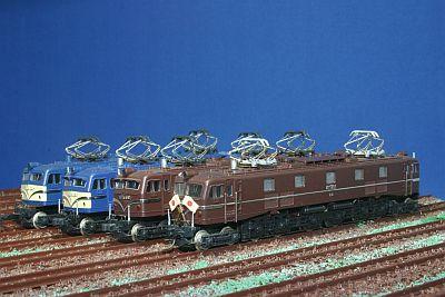 KATO TOMIX EF58形機関車