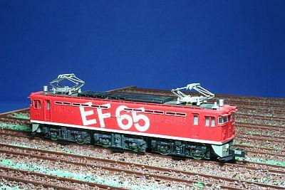 KATO EF65 レインボー塗色