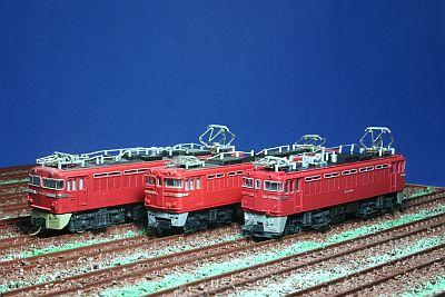 EF70形、EF71形、ED75形機関車