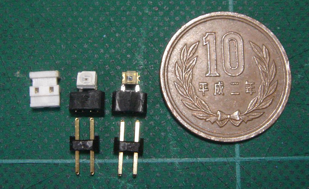 表面実装赤外線LEDの大きさ